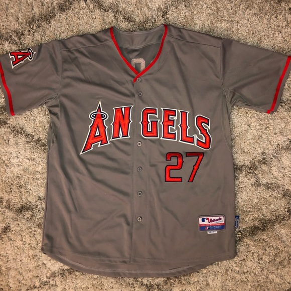 Majestic Other - Los Angeles Angels of Anaheim Road Jersey